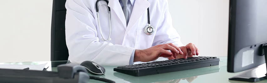 Entering clinical data in the EMR manually image